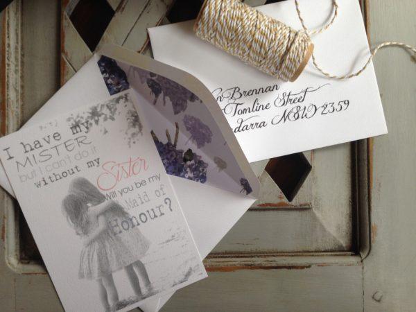 Design & Production of bespoke Wedding Stationery